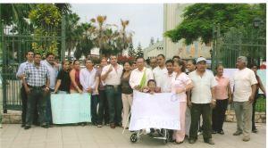 Plantón democracia Honduras 1