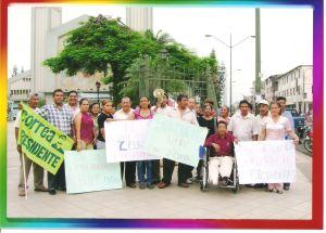 Plantón democracia Honduras 2