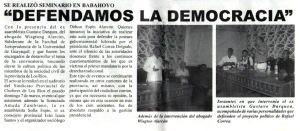 Publicado en Impacto 2000